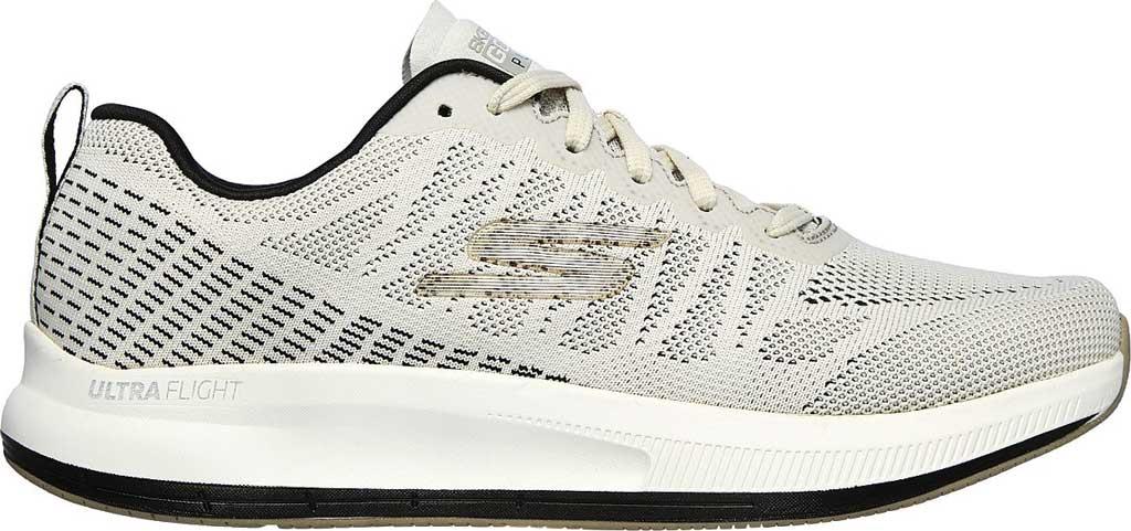Men's Skechers GOrun Pulse Strada Sneaker, Off White, large, image 2
