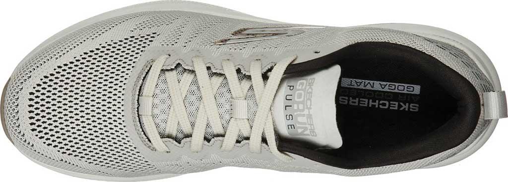 Men's Skechers GOrun Pulse Strada Sneaker, Off White, large, image 4