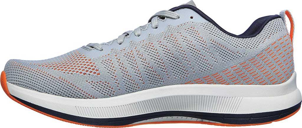 Men's Skechers GOrun Pulse Strada Sneaker, Gray/Orange, large, image 3