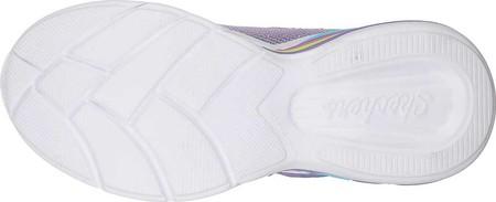 Girls' Skechers S Lights Sweetheart Lights Shimmer Spells Sneaker, Lavender/Multi, large, image 5