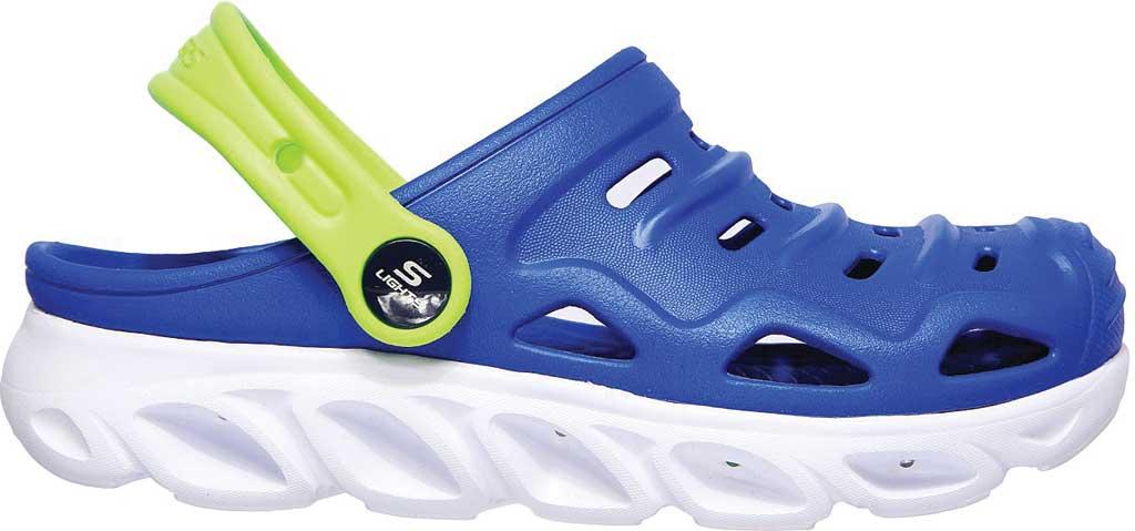 Boys' Skechers Foamies HypnoSplash Razder Clog, Blue/Lime, large, image 2