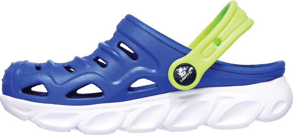 Boys' Skechers Foamies HypnoSplash Razder Clog, Blue/Lime, large, image 3