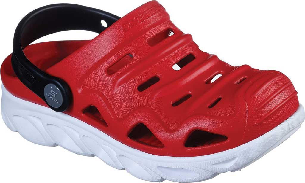 Boys' Skechers Foamies HypnoSplash Razder Clog, Red, large, image 1