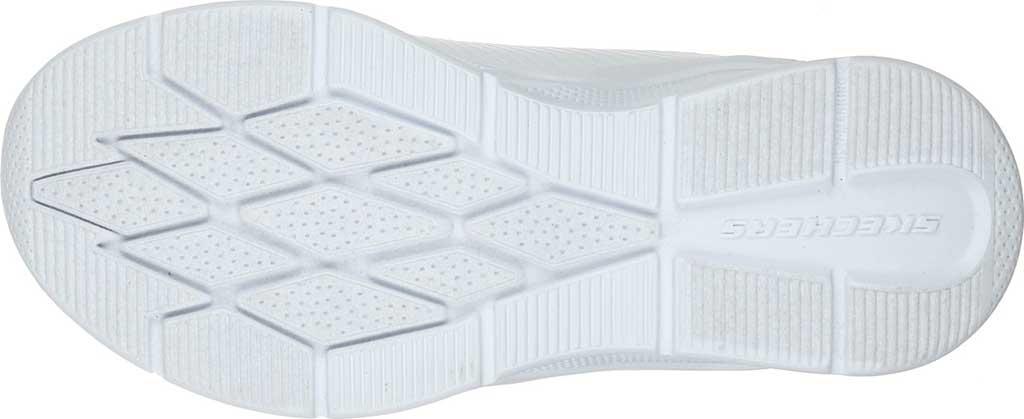 Girls' Skechers Microspec Classroom Cutie Sneaker, White, large, image 5