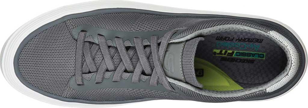 Men's Skechers Viewport Heldren Sneaker, Gray, large, image 4