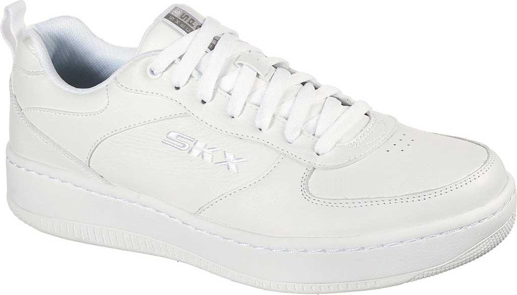 Men's Skechers Sport Court 92 Sneaker, White, large, image 1