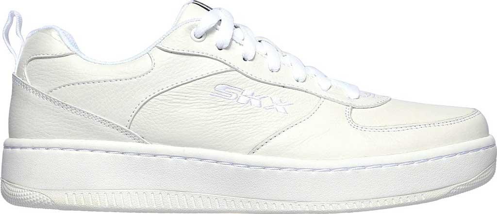 Men's Skechers Sport Court 92 Sneaker, White, large, image 2