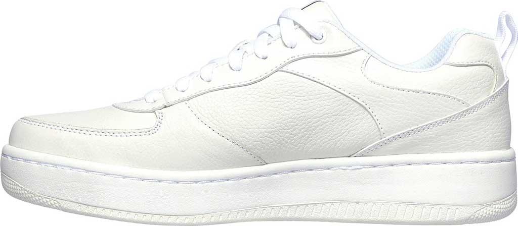 Men's Skechers Sport Court 92 Sneaker, White, large, image 3