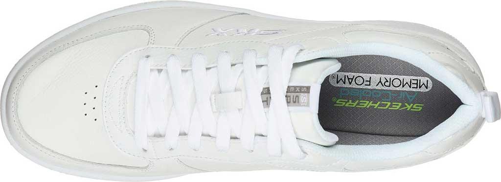 Men's Skechers Sport Court 92 Sneaker, White, large, image 4