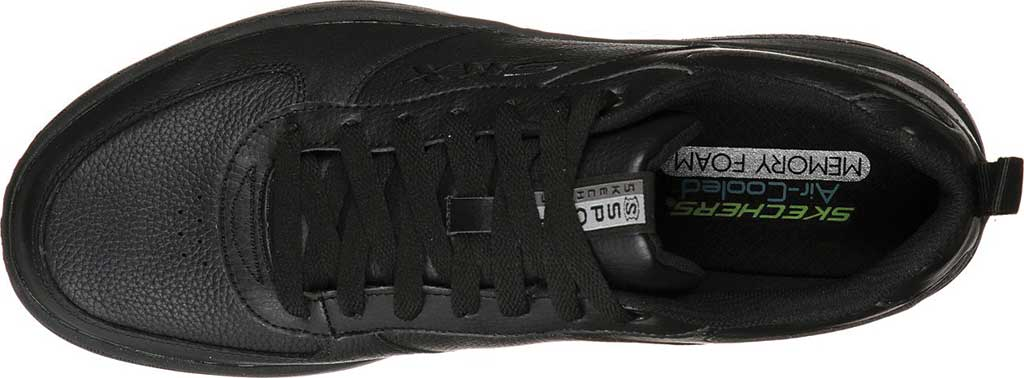 Men's Skechers Sport Court 92 Sneaker, Black/Black, large, image 4