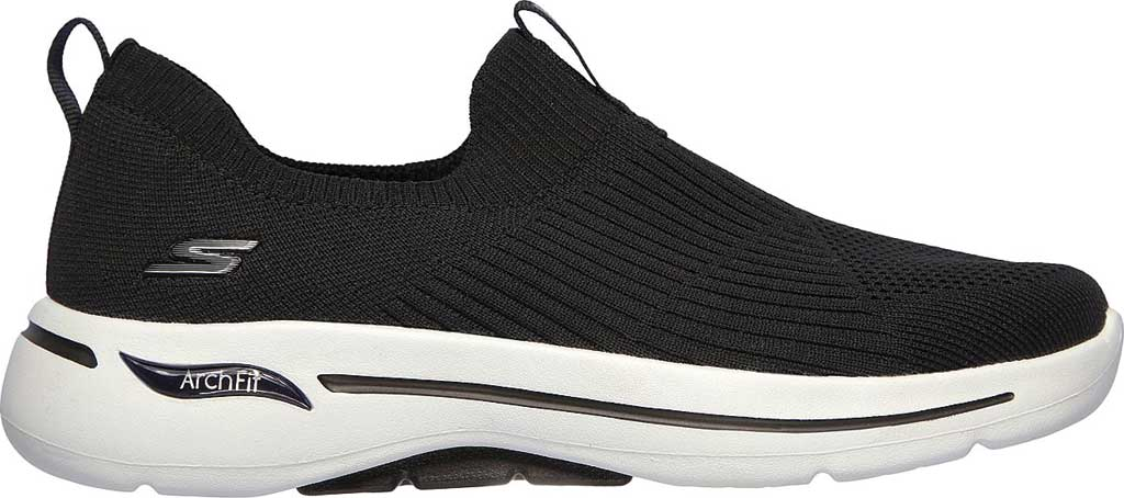 Women's Skechers GOwalk Arch Fit Iconic Slip-On, Black, large, image 2