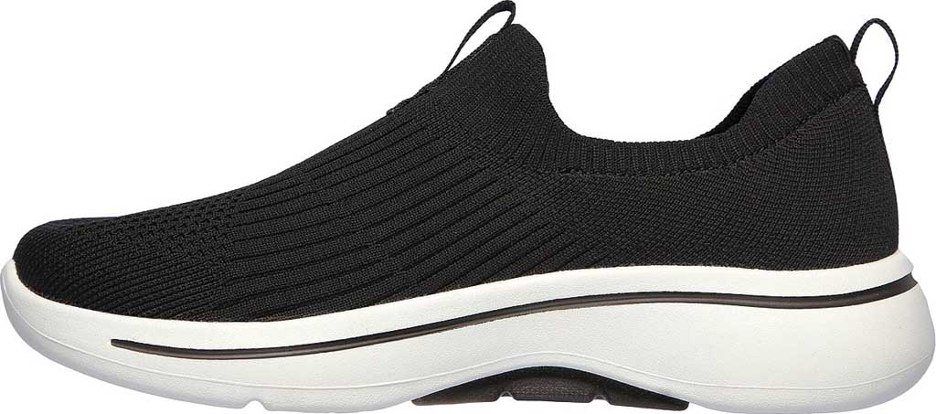 Women's Skechers GOwalk Arch Fit Iconic Slip-On, Black, large, image 3
