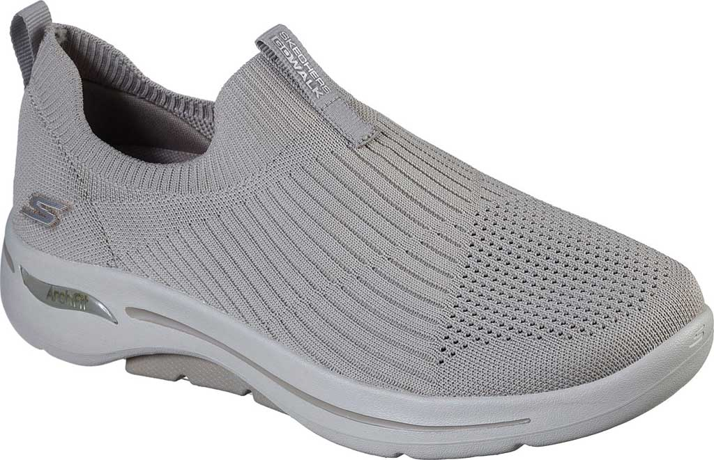 Women's Skechers GOwalk Arch Fit Iconic Slip-On, Taupe, large, image 1