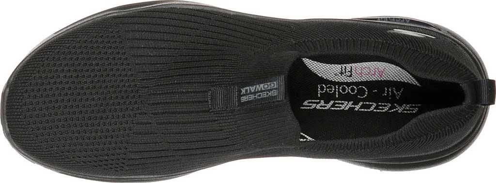 Women's Skechers GOwalk Arch Fit Iconic Slip-On, Black/Black, large, image 4