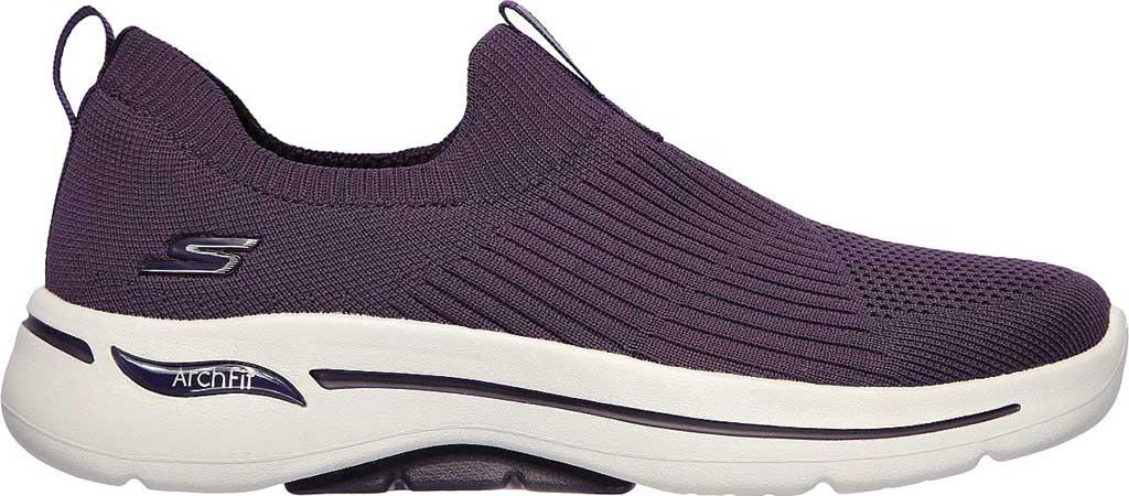Women's Skechers GOwalk Arch Fit Iconic Slip-On, Purple, large, image 2