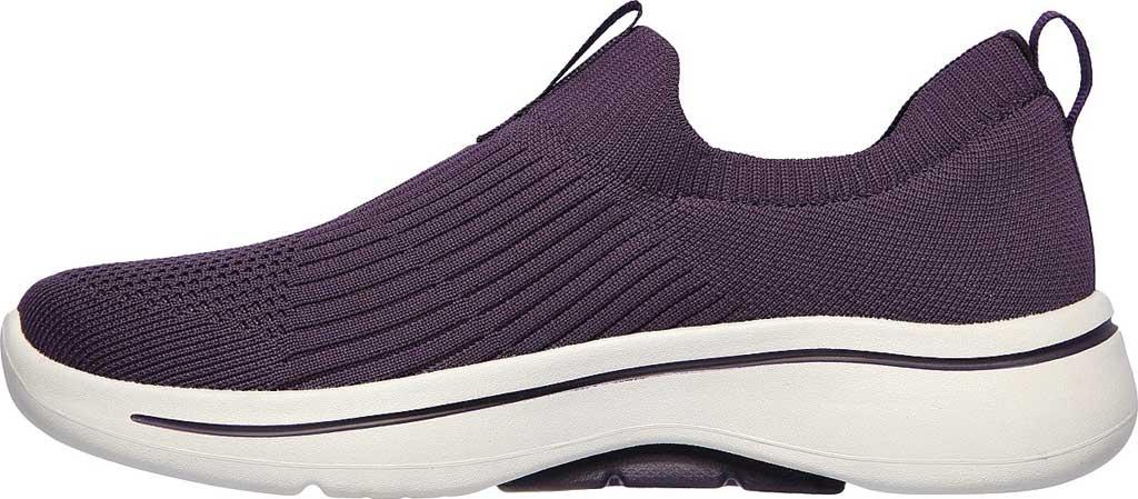 Women's Skechers GOwalk Arch Fit Iconic Slip-On, Purple, large, image 3