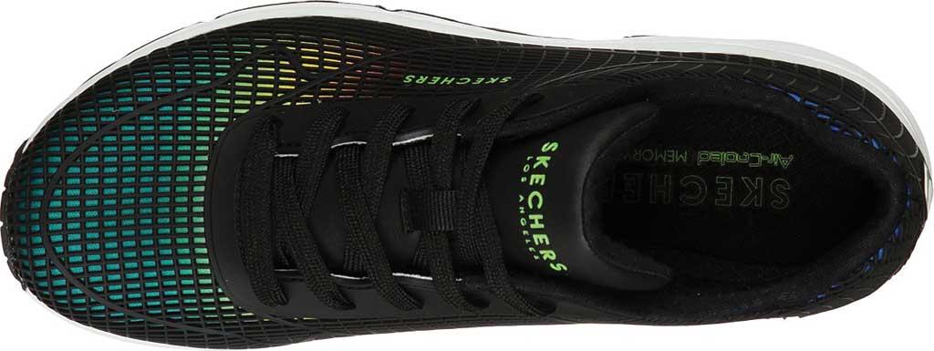 Women's Skechers Uno Eye Catching Sneaker, Black/Multi, large, image 4
