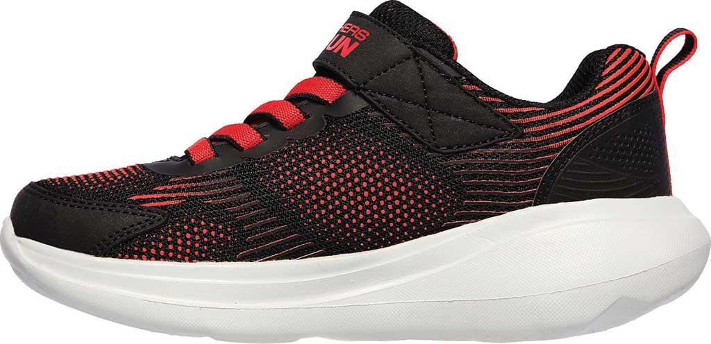 Boys' Skechers GOrun Fast Sprint Jam Sneaker, Black/Red, large, image 3