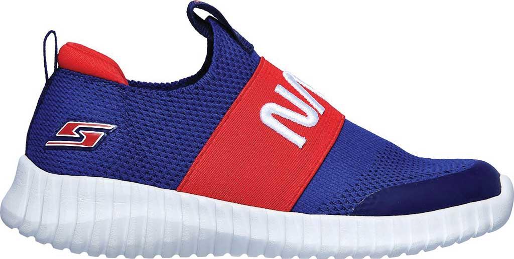 Boys' Skechers NASA Elite Flex Retro Rocket Sneaker, Blue/Red, large, image 2