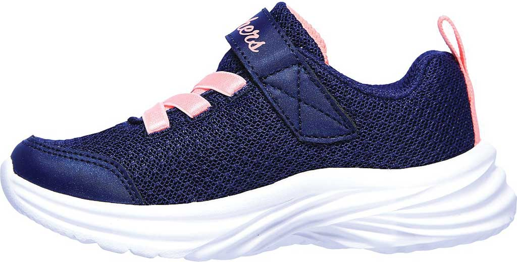 Infant Girls' Skechers Dreamy Dancer Miss Minimalistic Sneaker, Navy/Coral, large, image 3