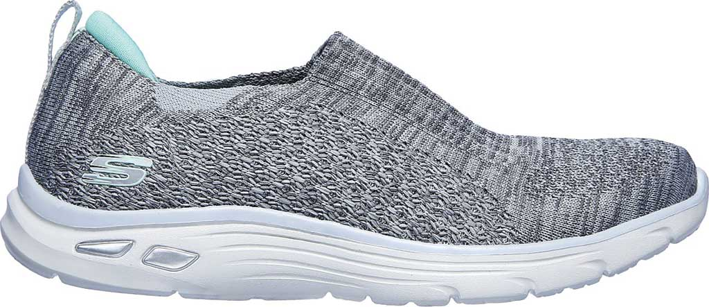 Women's Skechers Relaxed Fit Empire D'Lux Sweet Pearl Slip-On, Gray, large, image 2