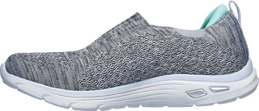 Women's Skechers Relaxed Fit Empire D'Lux Sweet Pearl Slip-On, Gray, large, image 3