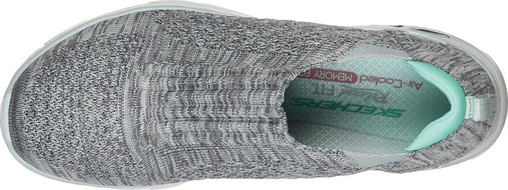 Women's Skechers Relaxed Fit Empire D'Lux Sweet Pearl Slip-On, Gray, large, image 4