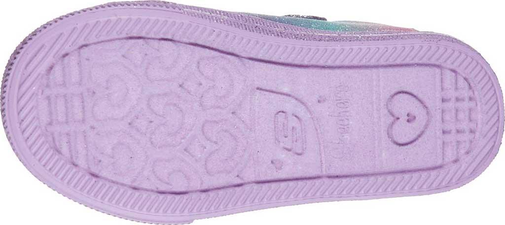 Infant Girls' Skechers Twinkle Toes Shuffle Lite Lil Heartbursts Sneaker, Lavender/Multi, large, image 5
