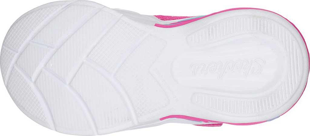 Infant Girls' Skechers S Lights Sweetheart Lights Shimmer Spells Sneaker, Pink/Multi, large, image 5