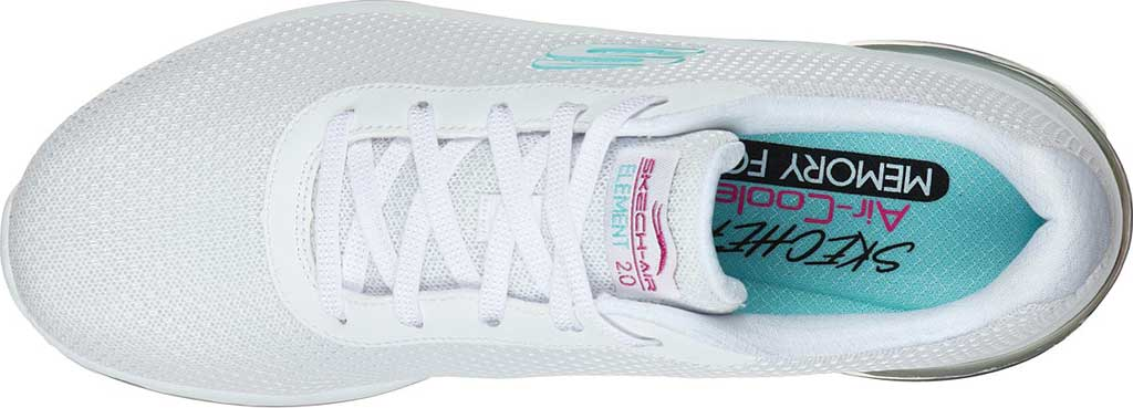 Women's Skechers Skech Air Element 2.0 Kaleidoscope Splash Sneaker, White/Multi, large, image 4