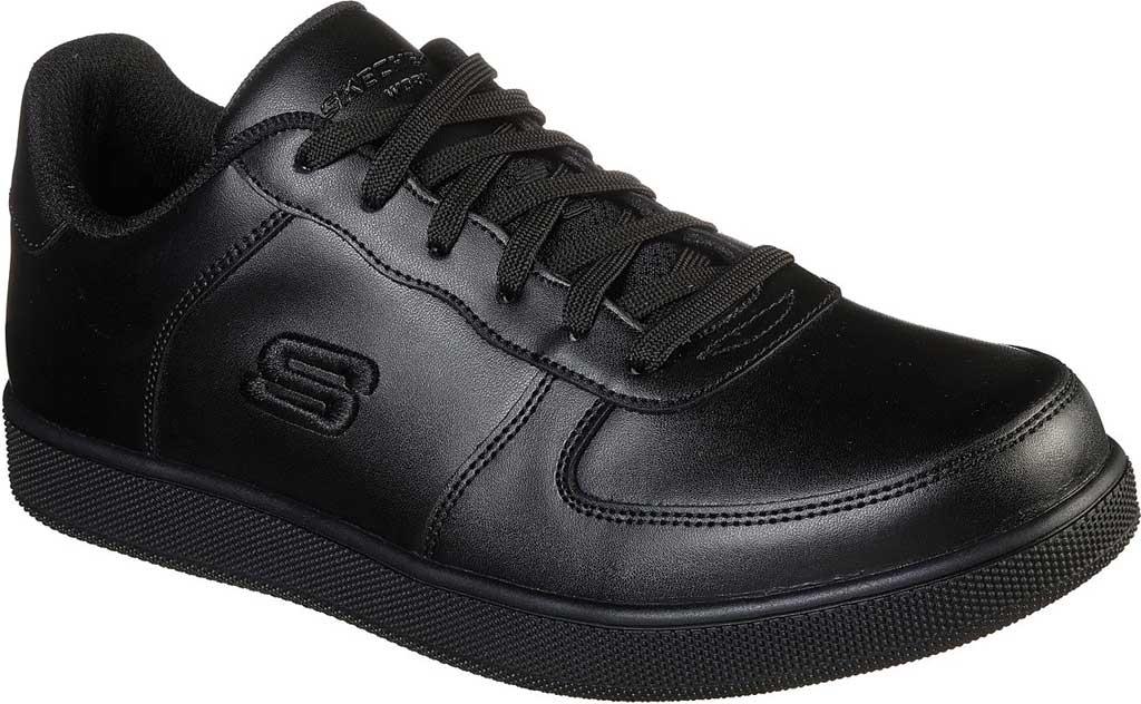 Men's Skechers Work Vibsie Vimerny Slip Resistant Sneaker, Black, large, image 1
