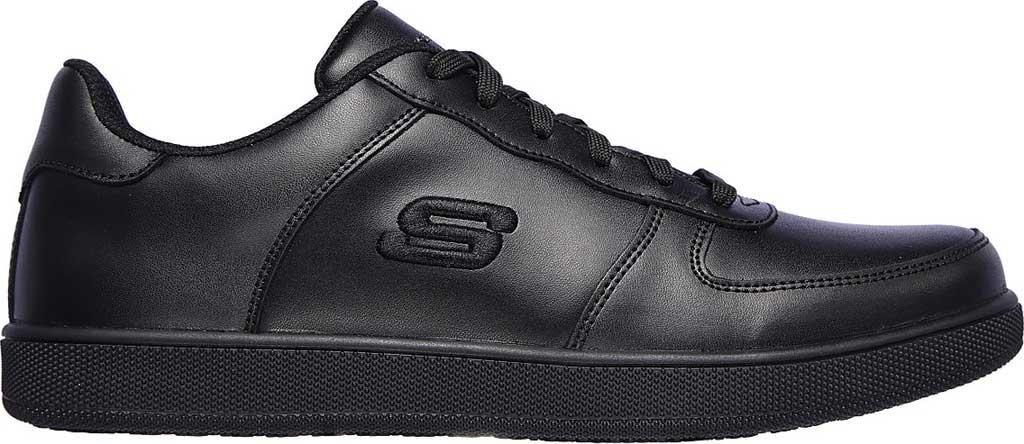 Men's Skechers Work Vibsie Vimerny Slip Resistant Sneaker, Black, large, image 2
