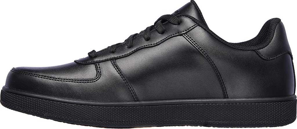 Men's Skechers Work Vibsie Vimerny Slip Resistant Sneaker, Black, large, image 3