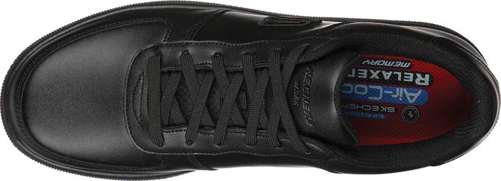 Men's Skechers Work Vibsie Vimerny Slip Resistant Sneaker, Black, large, image 4