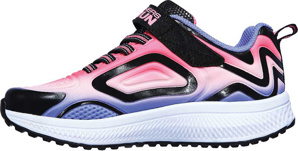 Girls' Skechers GOrun Consistent Sneaker, Black/Multi, large, image 3