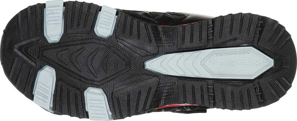 Boys' Skechers S Lights Hydro Lights Tuff Force Sneaker, Black/Red, large, image 5