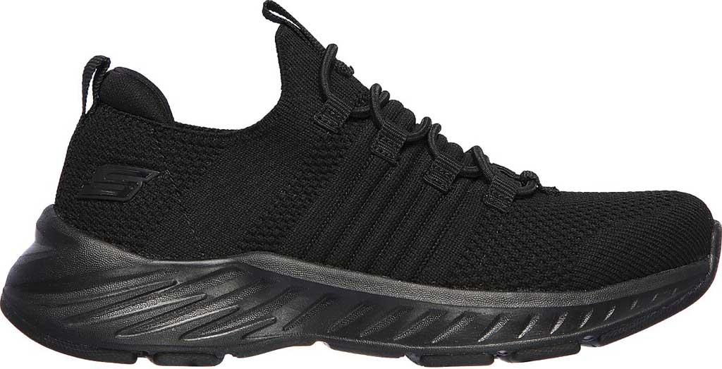 Boys' Skechers Elite Rush Sneaker, Black/Black, large, image 2