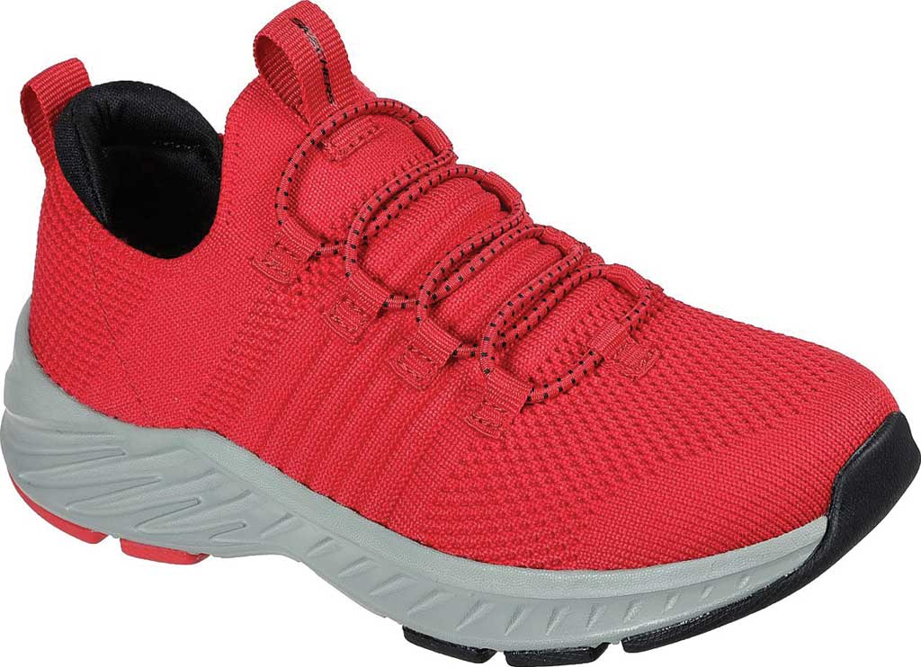 Boys' Skechers Elite Rush Sneaker, Red/Black, large, image 1