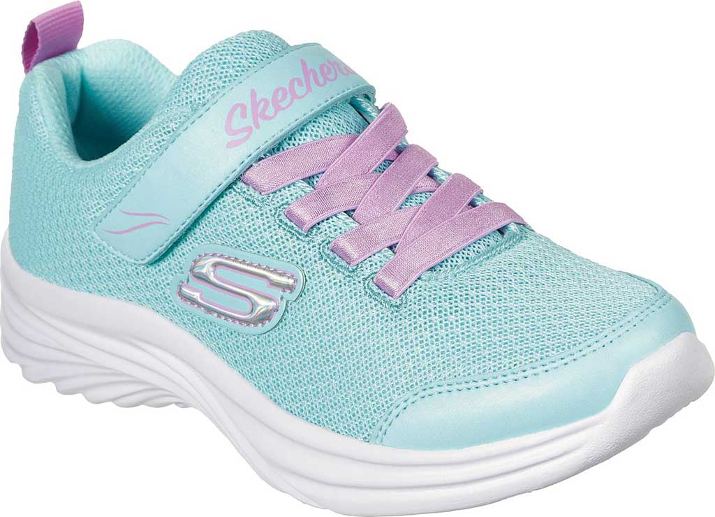 Girls' Skechers Dreamy Dancer Miss Minimalistic Sneaker, Aqua/Purple, large, image 1