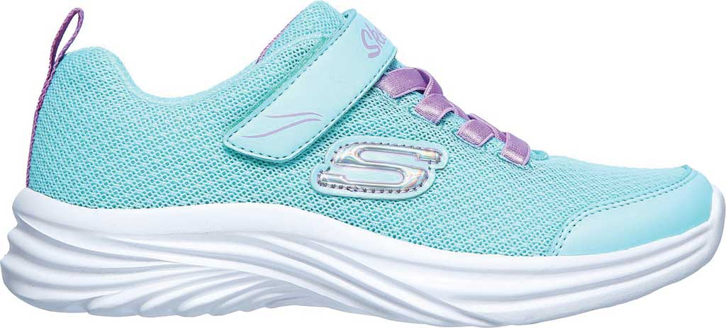 Girls' Skechers Dreamy Dancer Miss Minimalistic Sneaker, Aqua/Purple, large, image 2