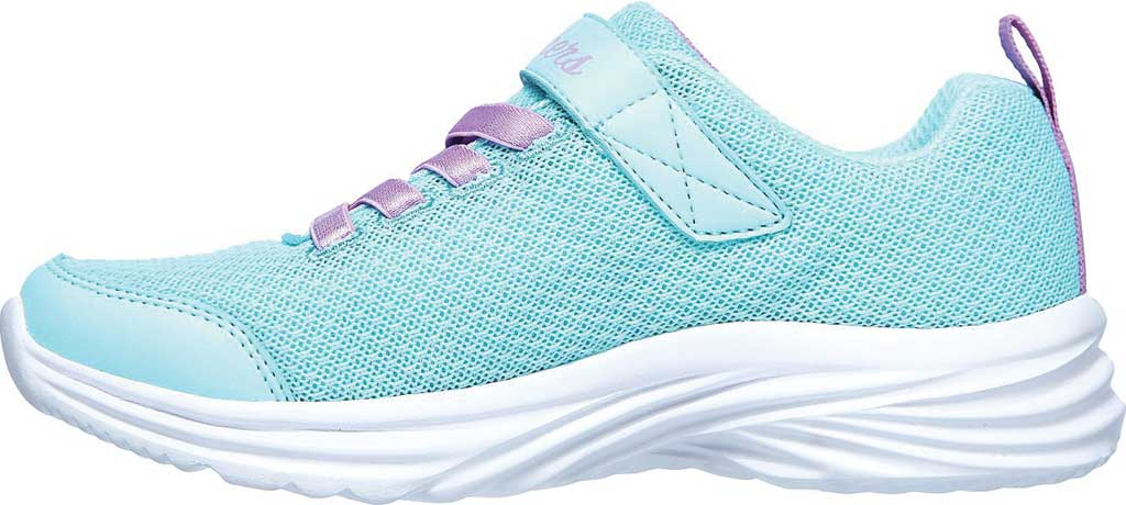 Girls' Skechers Dreamy Dancer Miss Minimalistic Sneaker, Aqua/Purple, large, image 3