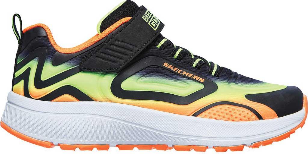 Boys' Skechers GOrun Consistent Surge Sonic Sneaker, Black/Lime, large, image 2