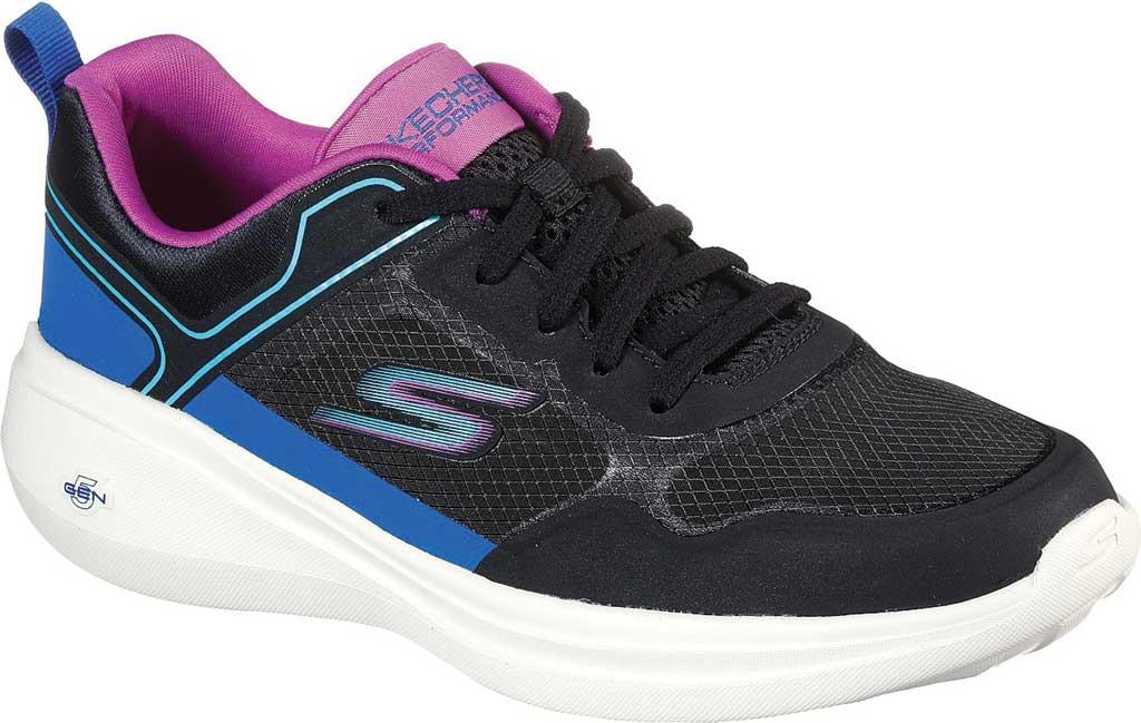 Women's Skechers GOrun Fast Retro Insight Sneaker, Black/Multi, large, image 1