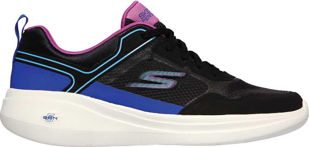 Women's Skechers GOrun Fast Retro Insight Sneaker, Black/Multi, large, image 2