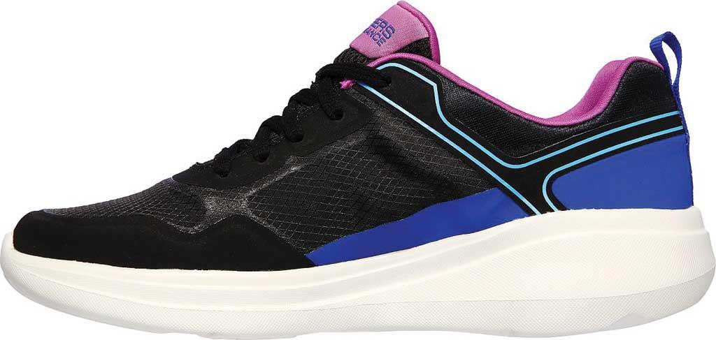 Women's Skechers GOrun Fast Retro Insight Sneaker, Black/Multi, large, image 3