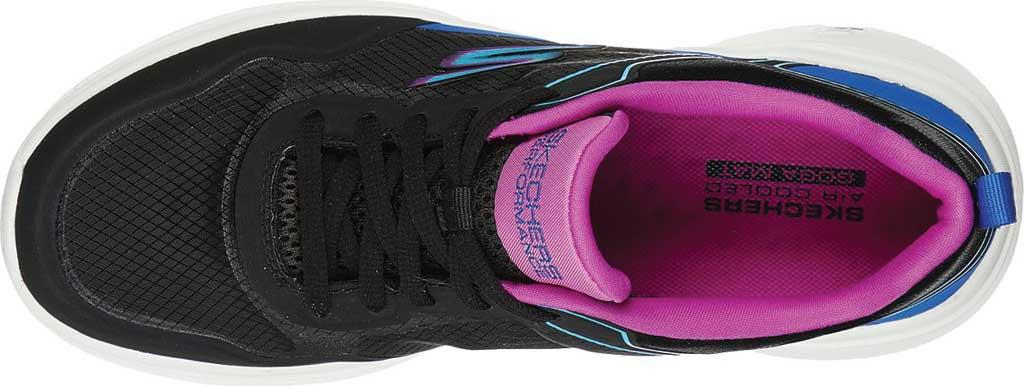 Women's Skechers GOrun Fast Retro Insight Sneaker, Black/Multi, large, image 4
