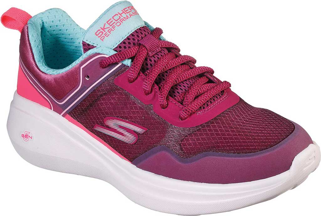 Women's Skechers GOrun Fast Retro Insight Sneaker, Raspberry, large, image 1
