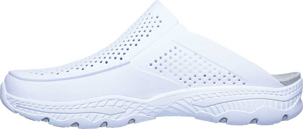 Men's Skechers Foamies Creston Ultra Havana Clog, White, large, image 3