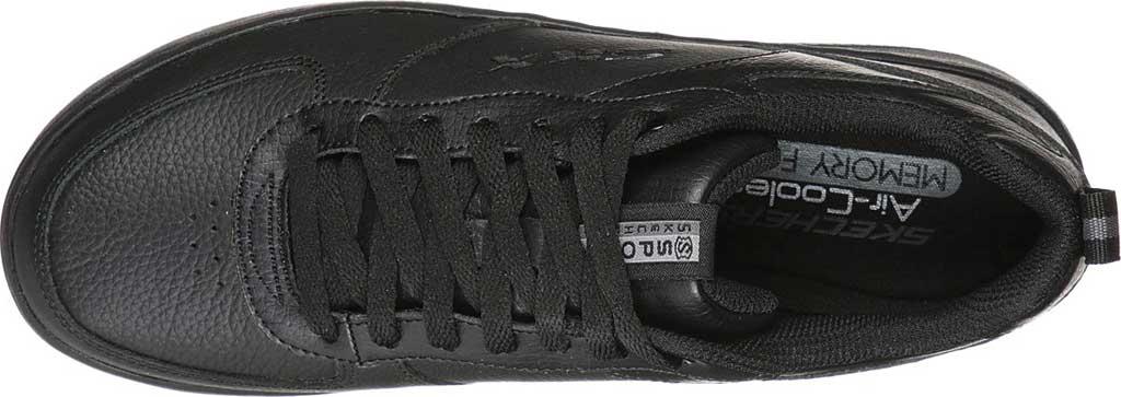 Women's Skechers Sport Court 92 Sneaker, Black/Black, large, image 4
