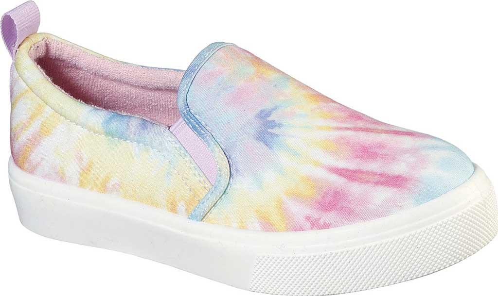 Girls' Skechers Poppy Hippie Hype Sneaker, White/Multi, large, image 1